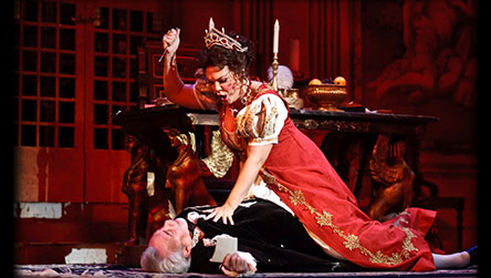 Tosca - Jill and Jake Gardner, Townsend Opera