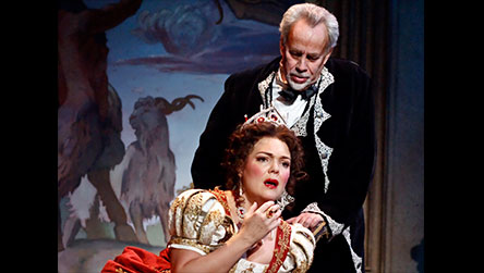TowniesWS article photo of Jill and Jake Gardner in TOSCA