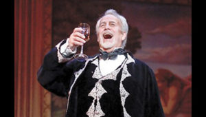 Jake Gardner as Scarpia in Tosca