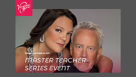 Virginia Opera: Master Teacher Series Event